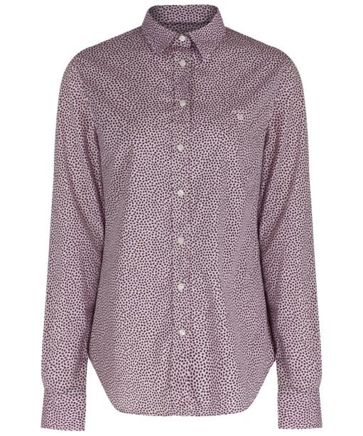 Women's GANT Broad Cloth Leaf Shirt - Light Pink