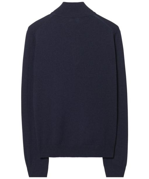 Men's GANT Super Fine Zip Sweater - Marine