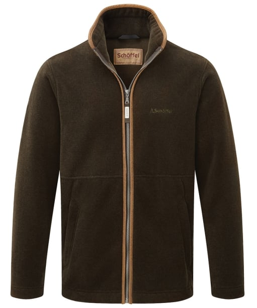 Men's Schoffel Cottesmore II Fleece Jacket - Dark Olive