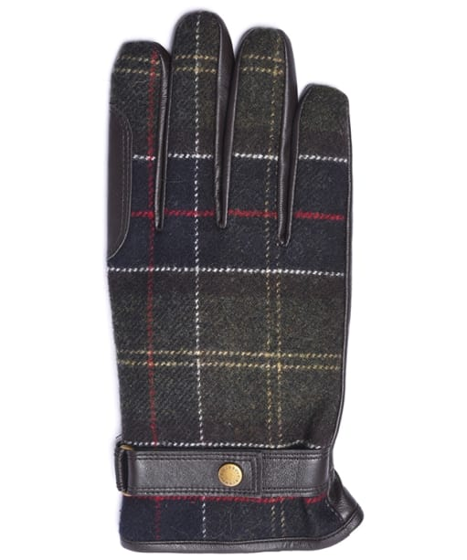 Men's Barbour Newbrough Tartan Gloves - Barbour Classic