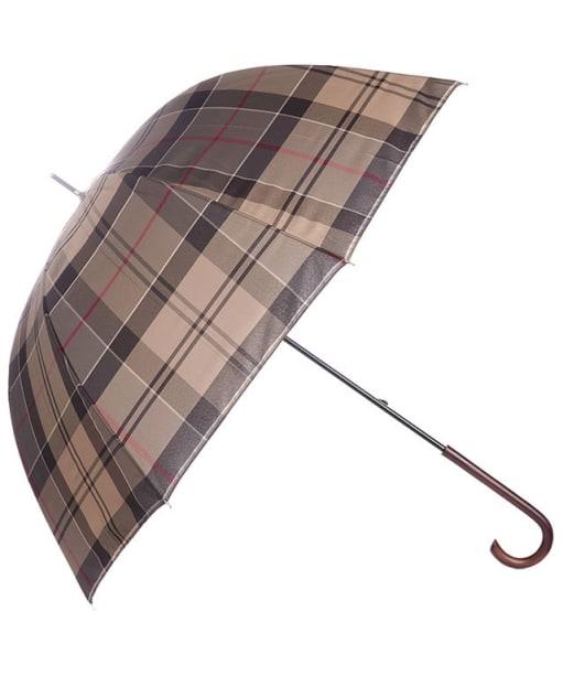 Women's Barbour Tartan Ladies Umbrella - Winter Tartan