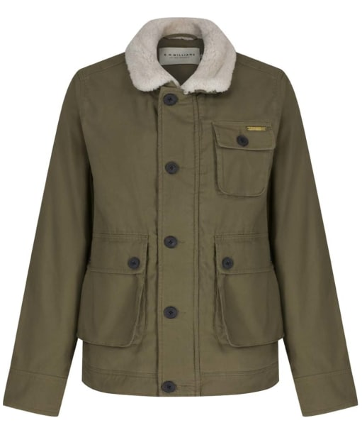 Men's R.M. Williams Shepp Jacket - Khaki