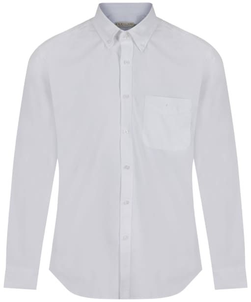 Men's R.M. Williams Collins Oxford Shirt - White