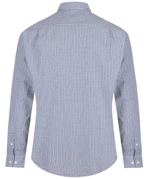 Men's R.M. Williams Check Collins Shirt - Blue | Brown | Navy