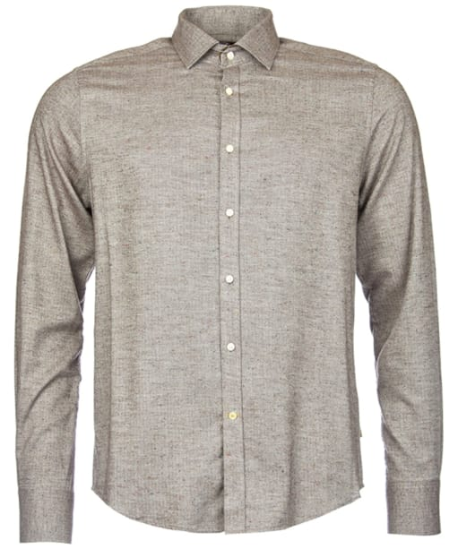 Men's Barbour Cranbeck Shirt - Dark Brown