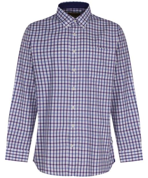 Men's Schoffel Brancaster Shirt - Purple