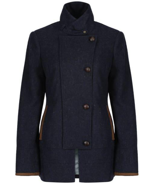 Women's Dubarry Willow Tweed Sport Jacket - Navy
