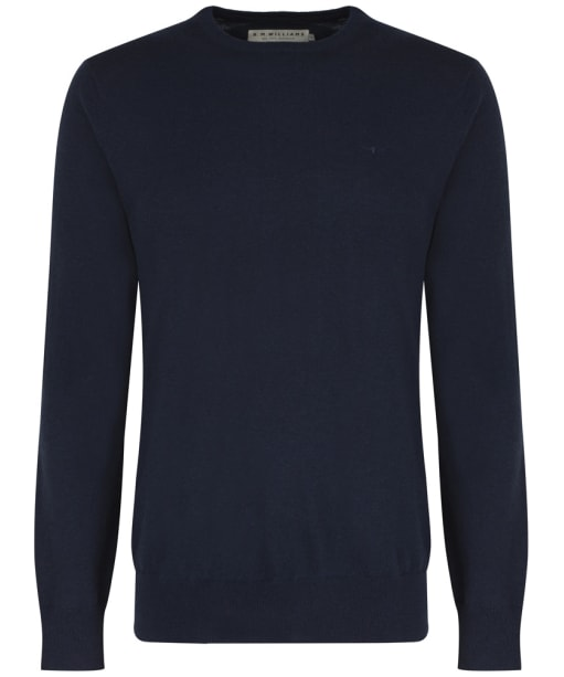 Men's R.M. Williams Howe Crew Neck Sweater - Navy