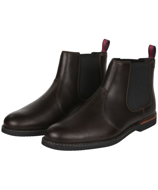 Men's Timberland Brook Park Chelsea Boots - Brown Smooth