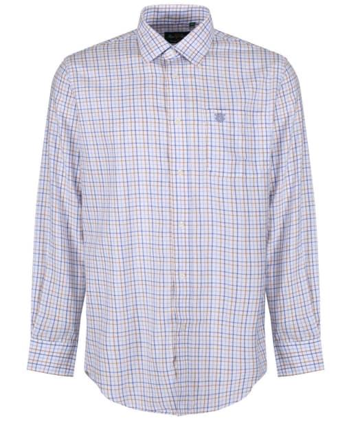 Men's Alan Paine Ilkley Shirt - Blue / Beige