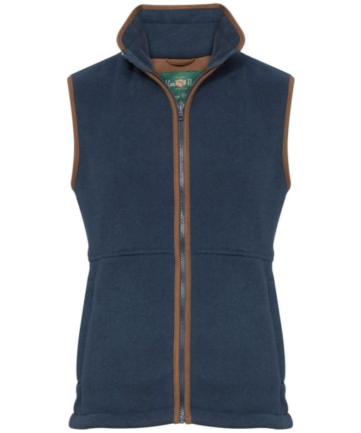 Men's Alan Paine Aylsham Fleece Waistcoat - Blue Steel