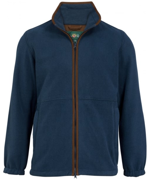Men's Alan Paine Aylsham Fleece Jacket - Blue Steel