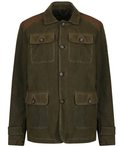 Men's Dubarry Glenview Waxed Cotton Jacket - Olive
