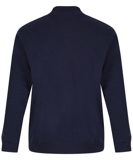 Men's Alan Paine Wilshaw Windblock Half Zip Sweater - Navy