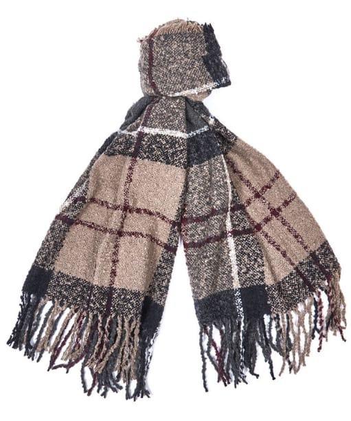 Women's Barbour Tartan Boucle Scarf - Winter Dress