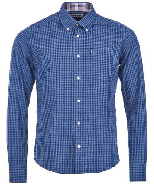 Men's Barbour Country Gingham Tailored Shirt - Indigo Check