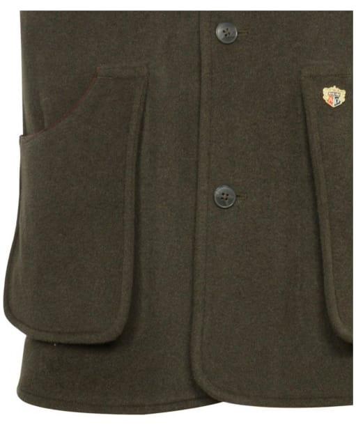 Men's Alan Paine Loden Shooting Waistcoat - Olive
