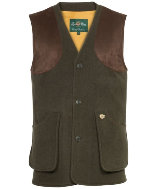 Men's Alan Paine Loden Shooting Waistcoat - Olive