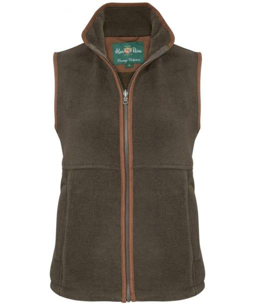 Women's Alan Paine Aylsham Fleece Waistcoat - Green