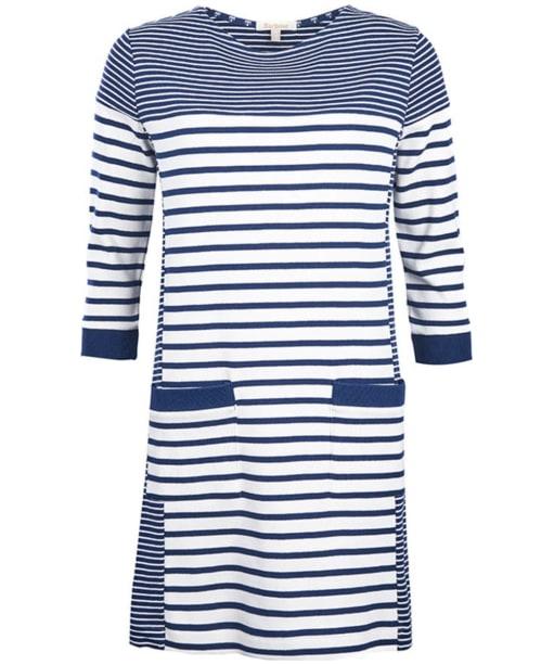 Women's Barbour Rief Dress - Navy / Cloud