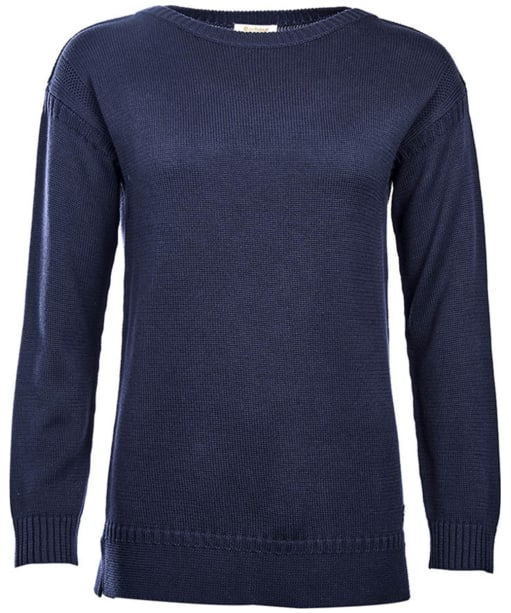 Women's Barbour Cove Knit Sweater - Navy
