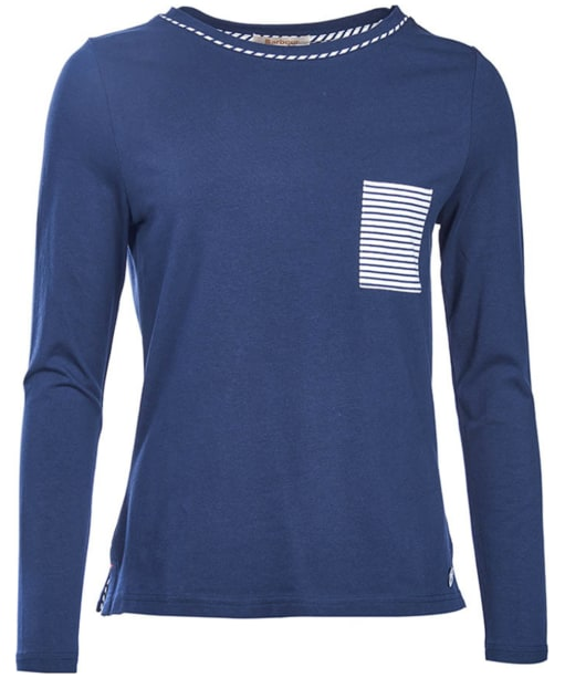 Women's Barbour Hermit Top - Navy