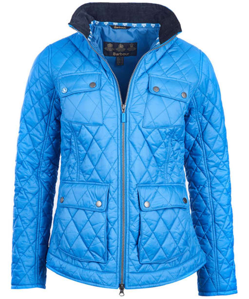 Women's Barbour Dolostone Quilted Jacket - Beachcomber Blue