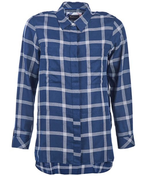 Women's Barbour Kelso Shirt - Navy / Cloud