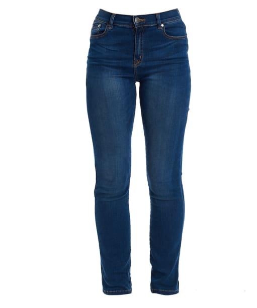 Women's Barbour Essential Slim Jeans - Worn Blue