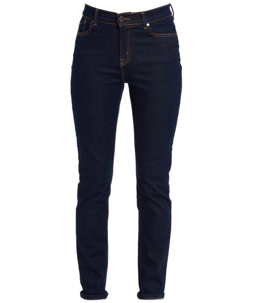 Women's Barbour Essential Slim Jeans - Rinse