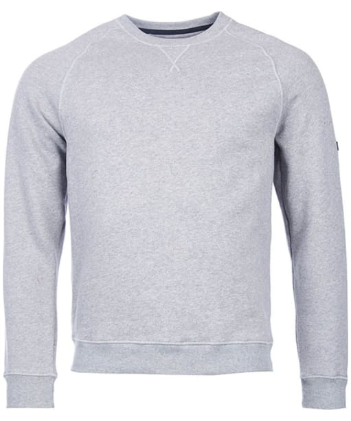 Men's Barbour International Clutch Crew Neck Sweater - Storm Marl