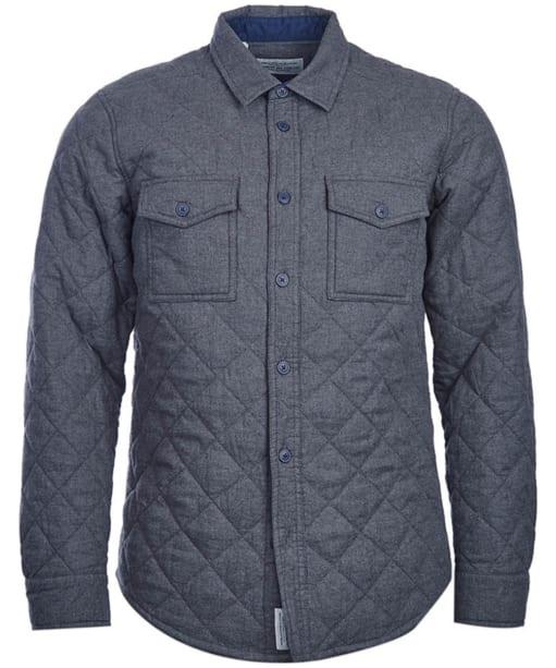Men's Barbour Huldra Overshirt - Charcoal