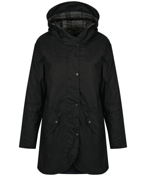 Women's Barbour Coll Wax Jacket - Navy