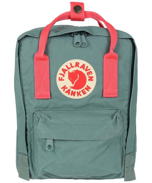 Fjallraven Kanken Mini Backpack - Frost Green   Peach Pink