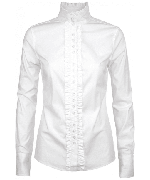 Women's Dubarry Chamomile Country Shirt - White