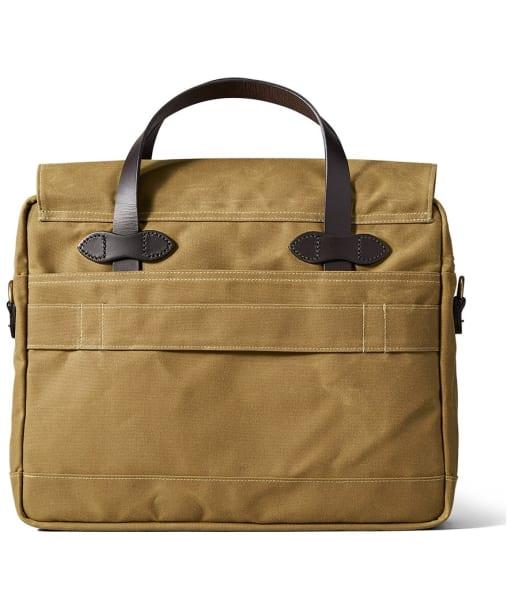 Men's Filson 24 Hour Tin Briefcase - Dark Tan