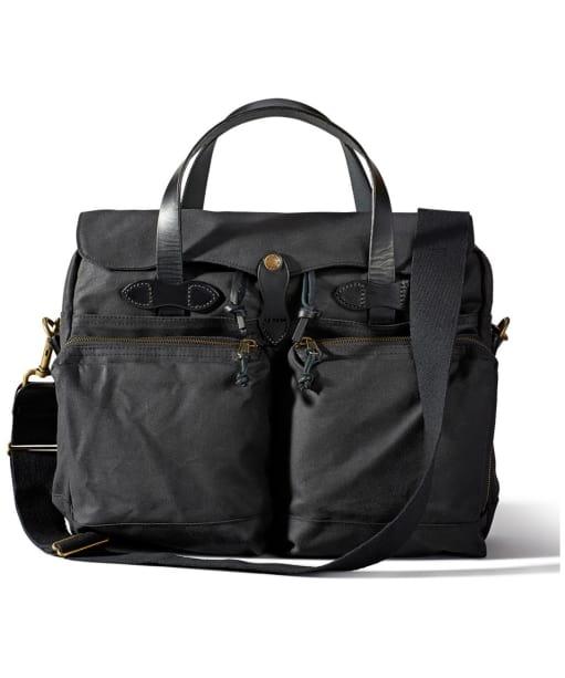 Men's Filson 24 Hour Tin Briefcase - Black