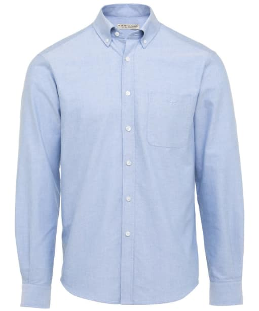 Men's R.M. Williams Collins Oxford Shirt - Light Blue