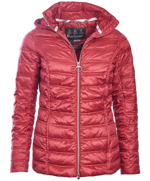 Women's Barbour Monar Quilt Jacket - Red
