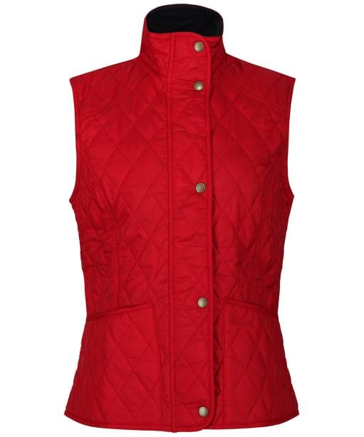 Barbour Ladies Summer Liddesdale Gilet - New Red