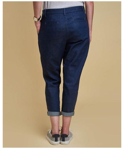 Women's Barbour Heritage Jeans - Rinse Wash Denim