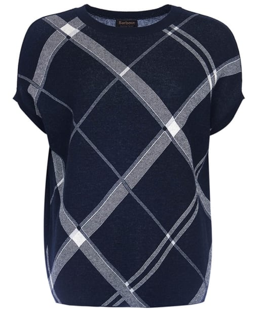 Women's Barbour Falkland Knit Sweater - Navy