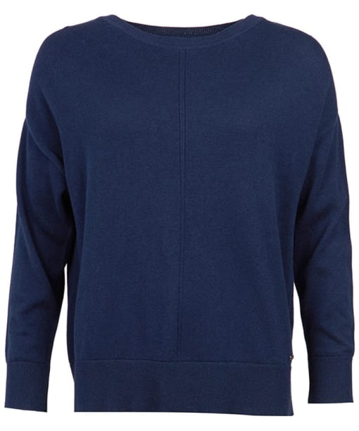 Women's Barbour Hawthorn Knit Sweater - Navy