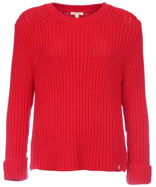 Women's Barbour Clove Hitch Sweater - Red