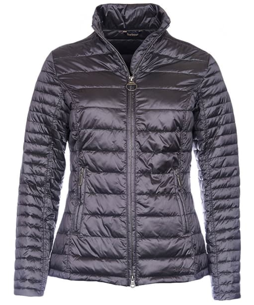 Women's Barbour Iona Quilted Jacket - Ash Grey