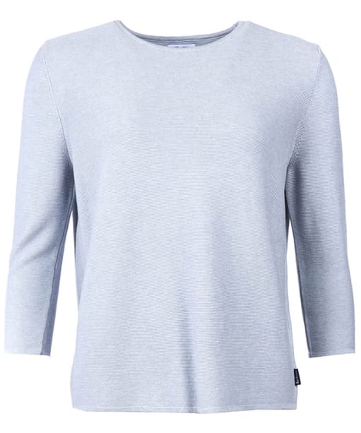 Women's Barbour Cross Back Crew Neck Sweater - Grey