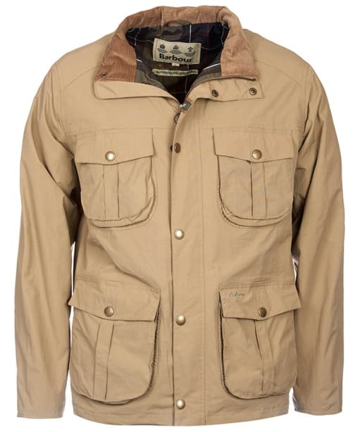 Men's Barbour Petrel Waterproof Jacket - Light Sand
