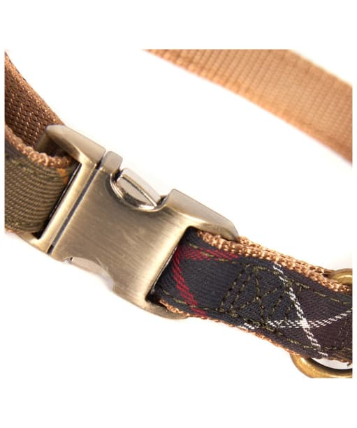 Barbour Tartan Webbing Dog Collar - Barbour Classic