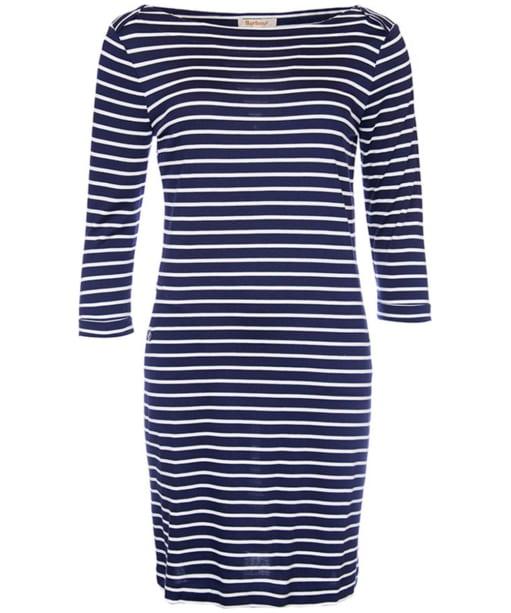 Women's Barbour Wharf Dress - Navy / Cloud