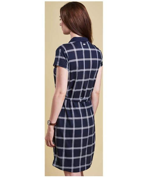 Women's Barbour Orrin Dress - Navy / Cloud